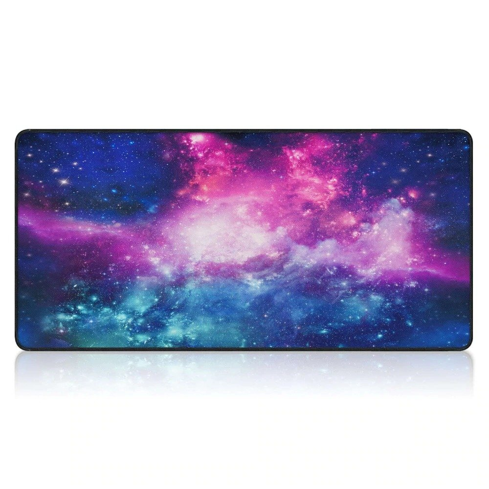 Deep Space Nebula Mouse Pad 900x400mm XL Size Desk Mat