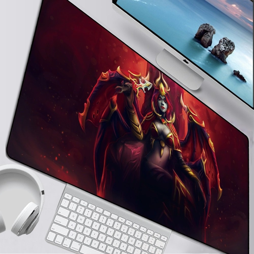 DOTA 2 Queen Of Pain II Mouse Pad 900x300mm Computer Desk Mat XL Gaming Mousepad