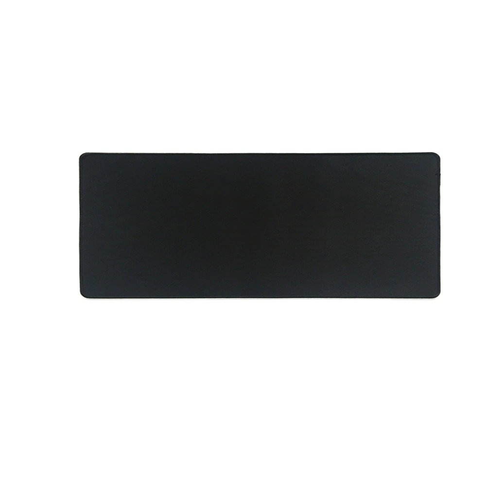 Pure Black with Black Stitching 800x300mm Size Mouse Pad Gaming Computer Desk Mat