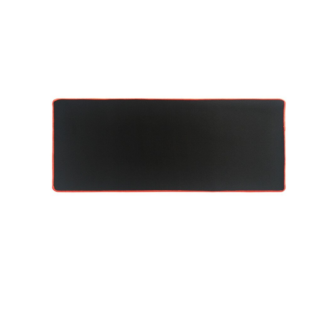 Black Color with Red Stitching 600x300mm Size Mouse Pad Gaming Computer Desk Mat