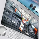 CSGO M4A4 Asiimov Skin Mouse Pad 600x300mm Size Computer Desk Mat XL Gaming Mousepad