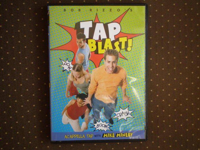 BOB RIZZO'S TAP BLAST! DVD ACAPPELLA TAP DANCE MIKE MINERY 2005