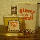 VINTAGE PERFUME BOTTLE FLEURS DE CORAIL PIERRE SACHET TAHITI in BOX