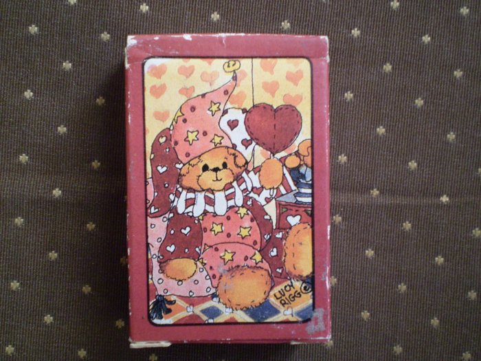 ENESCO MINI PLAYING CARDS 1985 NEW IN SHRINKWRAP LUCY RIGG