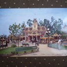 VINTAGE 1950's DISNEYLAND POSTCARD P12285 PC TROLLEY