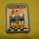 Lot 8 Girl Scout Sock Hop Patch GSA NEW