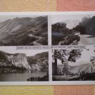 VINTAGE POSTCARD HIWAY 120 YOSEMITE VALLEY HETCH HETCHY TIOGA PASS rppc