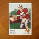 Randy Duncan Dallas Texans card Quarterback FHF F H F 200