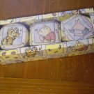 VINTAGE 3 SCENTED CANDLES IN TIN DECORATED SET CLASSIC WINNIE THE POOH