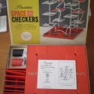 VINTAGE PLEASANTIME SPACE CHECKERS COMPLETE #1350 3D Game
