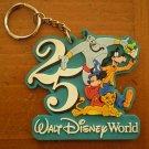 25th Anniversary Walt Disney World Key Chain keychain