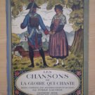 LES CHANSONS DE LA GLOIRE QUI CHANTE EMILE LAUBER SPES BOOK PIANO SHEET MUSIC BK