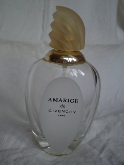 AMARIGE DE GIVENCHY EDT EMPTY PERFUME BOTTLE 100ml