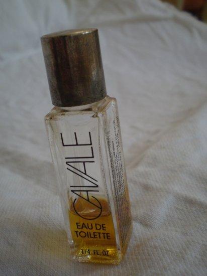 Miniature Faberge Cavale EDT Vintage Perfume Bottle 1/4 fl oz