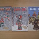 Lot 3 Vintage Jack and Jill Magazine 1956 January February March