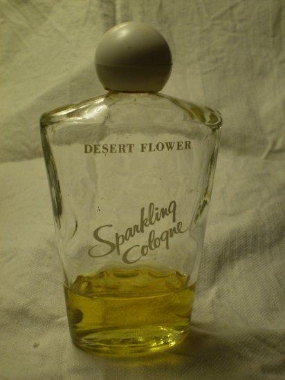 DESERT FLOWER SPARKLING COLOGNE SHULTON 6 fl oz VINTAGE PERFUME BOTTLE