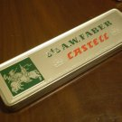 VINTAGE PENCIL TIN A.W. FABER CASTELL STEIN BEI NURNBERG GERMANY 9000 HB