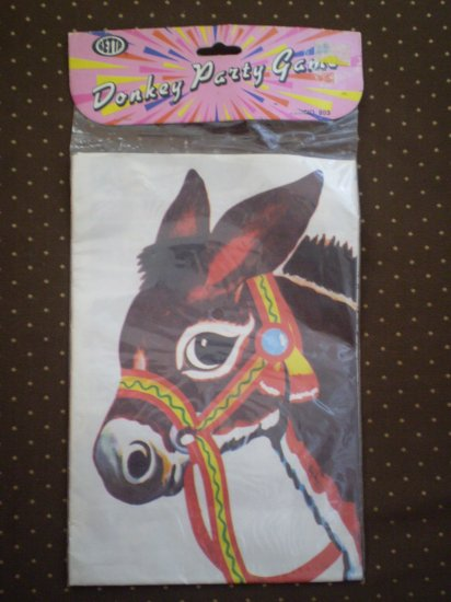 Pin The Tail On The Donkey Party Game Betta 1989