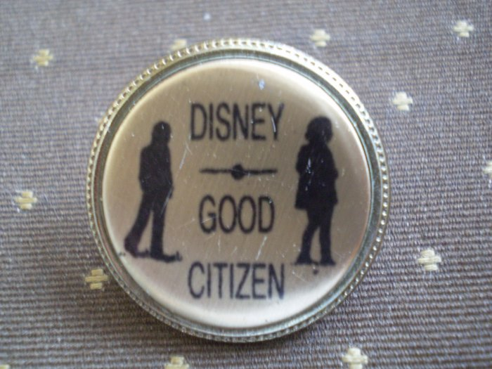 Vintage Disney Good Citizen Pin Disneyland