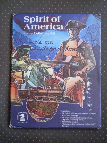 Spirit of America Stamp Collecting Kit 924 sealed USPS