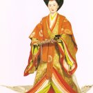 Full dress for Her Majesty the Empress & court ladies print