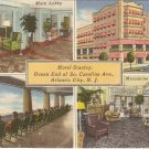 Hotel Stanley Atlantic City NJ postcard