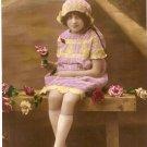 Bonne Annie RPPC postcard vintage DSEB Paris DEPOSE 2142