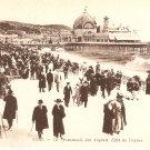 NICE France La Promenade des Anglais Effet de Vagues b&w postcard