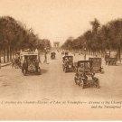 Paris Champs-Elysee Arc de Triomphe postcard vintage