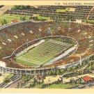 Rose Bowl Pasadena California postcard vintage