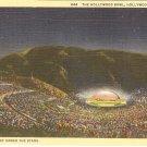 Hollywood Bowl California postcard vintage
