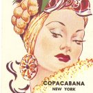 Copacabana New York City vintage postcard