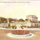 General View Oakes Garden Theatre Niagara Falls Canada Vintage Postcard