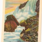 Rock of Ages Cave of Winds Niagara Falls Vintage Postcard