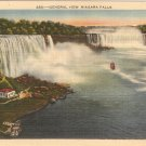 General View Niagara Falls Vintage Postcard