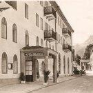 Hotel Bellevue Berchtesgaden Recreation Area US Army Germany Vintage Postcard