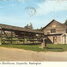 Alexander Blockhouse Coupeville, Washington 1982 postcard