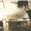 China Airlines CAAC Airport Restaurant vintage postcard