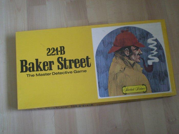 221-B Baker Street Master Detective Game Hansen H-230 1978 221B