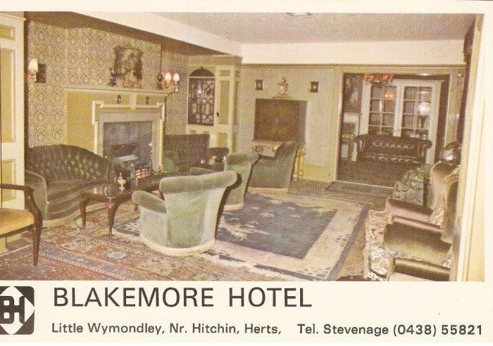 Blakemore Hotel Little Wymondley Hitchin Herts England postcard
