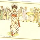 Children Pie Kate Greenaway Merrimack Publishing 1798S postcard