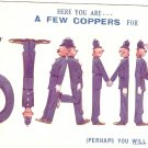 A few Coppers for Stamps vintage postcard Art Comics Bamforth