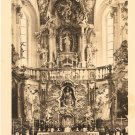 Andechs Cloister Germany vintage postcard