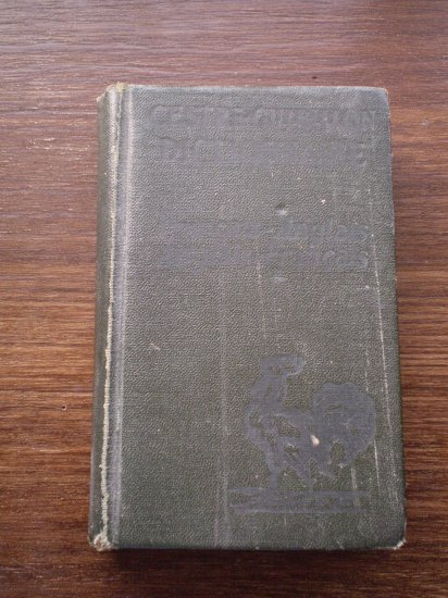 Dictionary Francais-Anglais French English Cestre Guibillon Dictionnaire 1927