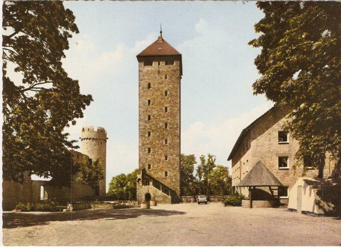 Heppenheim Germany Jugendherberge Starkenburg vintage postcard