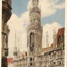 Munich City Hall Germany Munchen vintage postcard