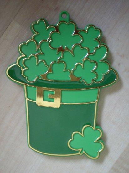 Hallmark Cookie Cutter St Patrick Leprechaun Hat 1980 Shamrock
