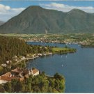 Tegernsee Schloss und Wallberg Germany vintage postcard Schoning