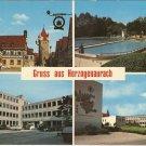 Gruss aus Herzogenaurach Germany vintage postcard