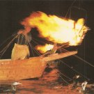 Cormorant Fishing Nagara River Gifu Japan vintage postcard